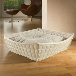bowl katzenkorb lederimitat imitat schlafplatz ruheplatz k rbchen korb katze. Black Bedroom Furniture Sets. Home Design Ideas