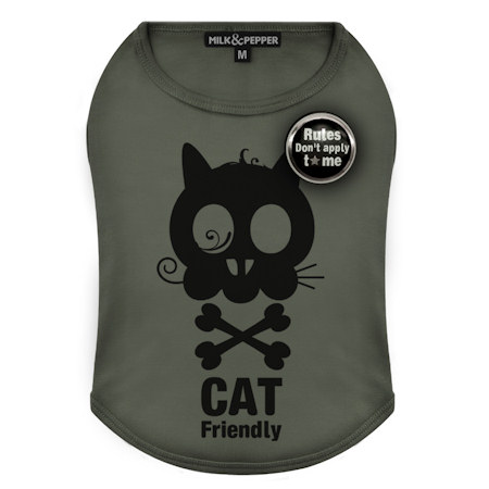 T-Shirt Friendly Cat