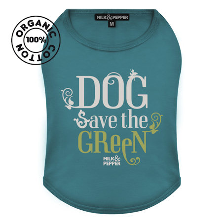 T-Shirt Green Dog Lagoon