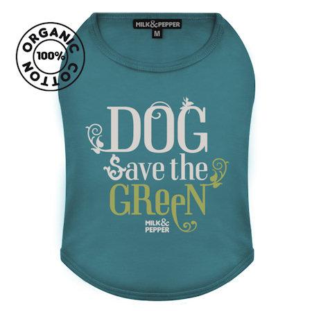 T-Shirt Green Dog Lagoon