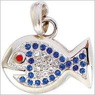 Schmuckanhänger Fisch